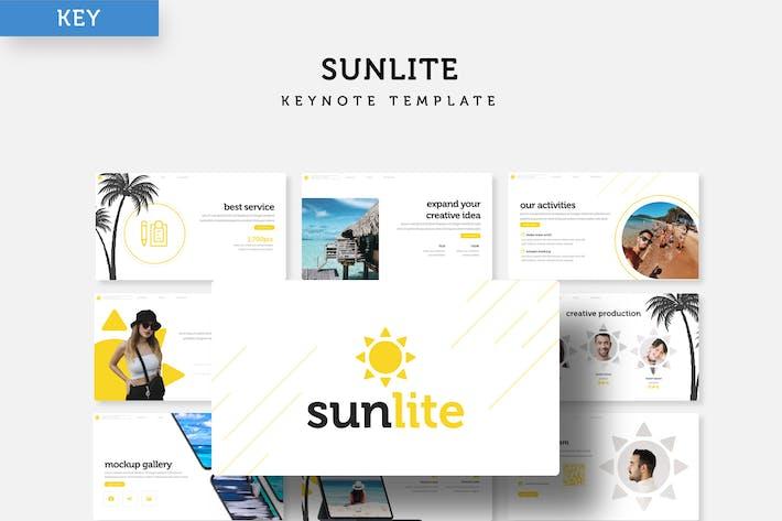 Thumbnail for Sunlite - Keynote Template