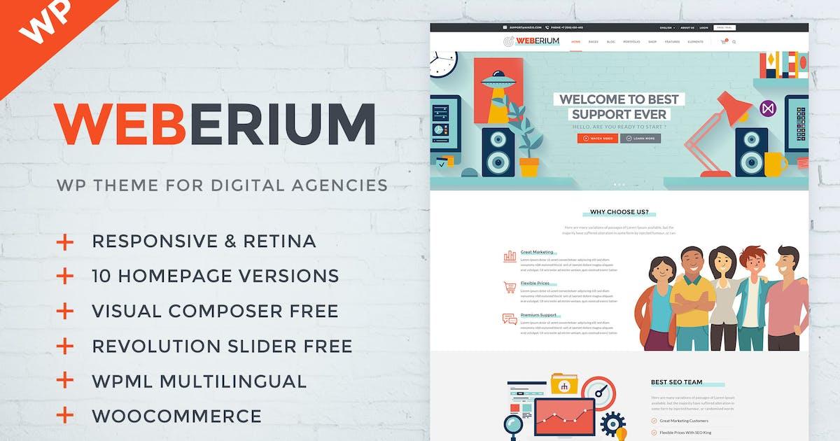 Download Weberium | Responsive WordPress Theme Tailored for by ninzio