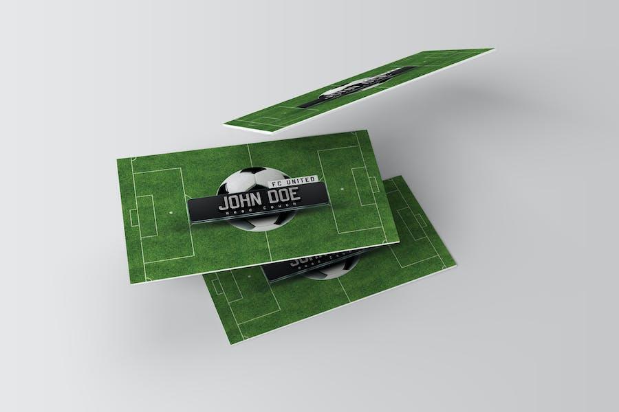 Business Card Soccer Coach