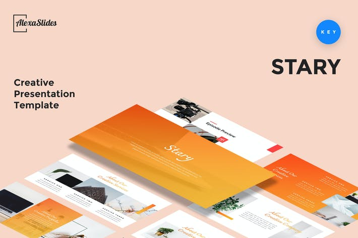 Stary - Creative Keynote Presentation Template