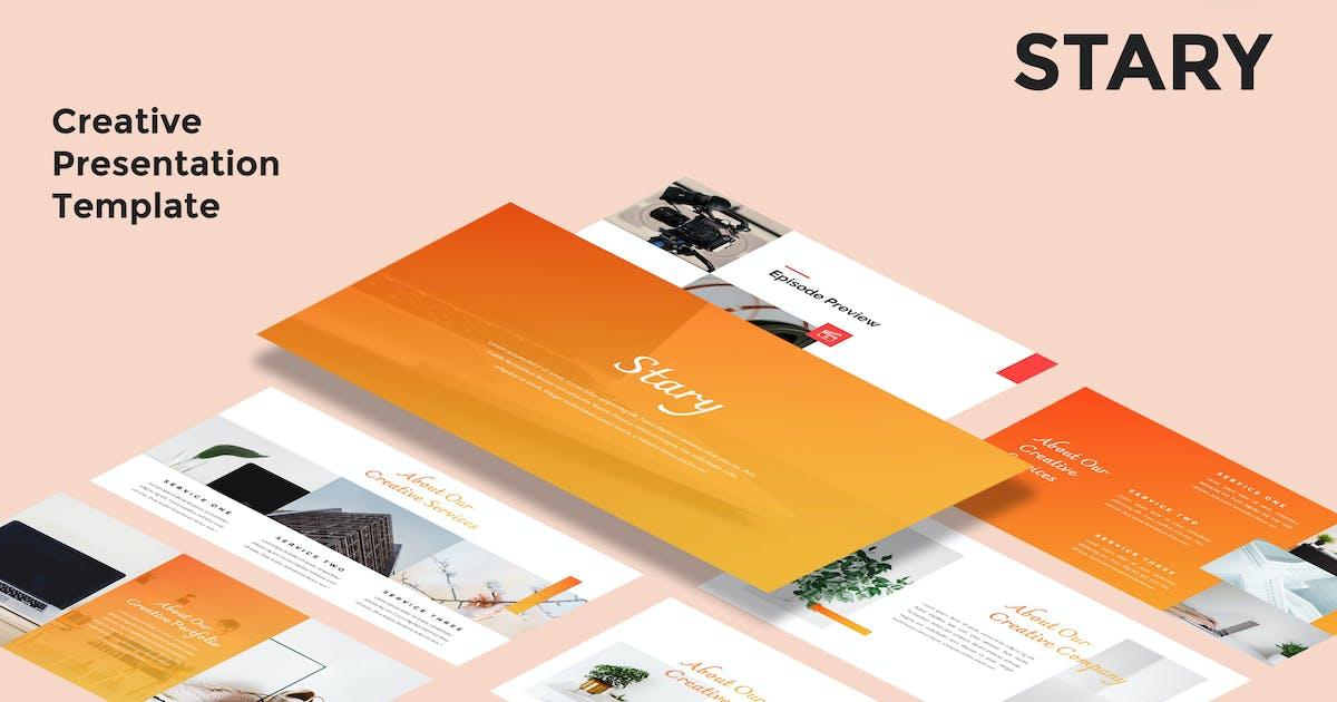 Download Stary - Creative Keynote Presentation Template by alexacrib