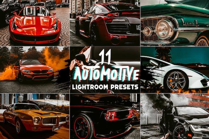 11 Эффекты Автомобили Lightroom Престы