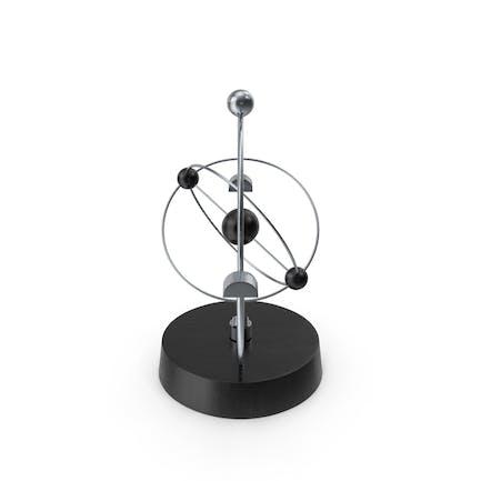 Newton Cradle Orbital