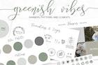 Green Web Design and Branding Kit