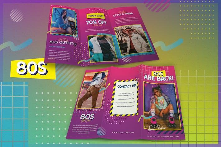 80s Fashion - Brochure