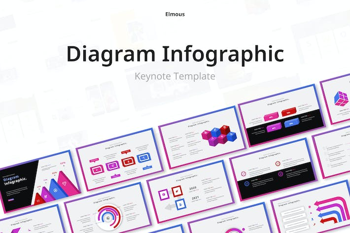 Diagram Collection Keynote Infographic Template