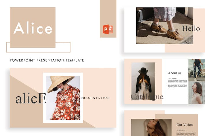 Thumbnail for Alice Powerpoint template