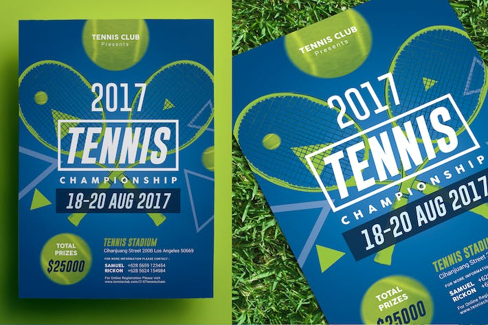 Thumbnail for Tennis Championship Flyer