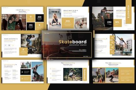 Skateboard - Keynote Template