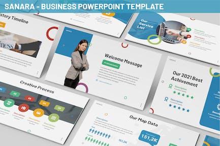 Sanara - Business Powerpoint Template