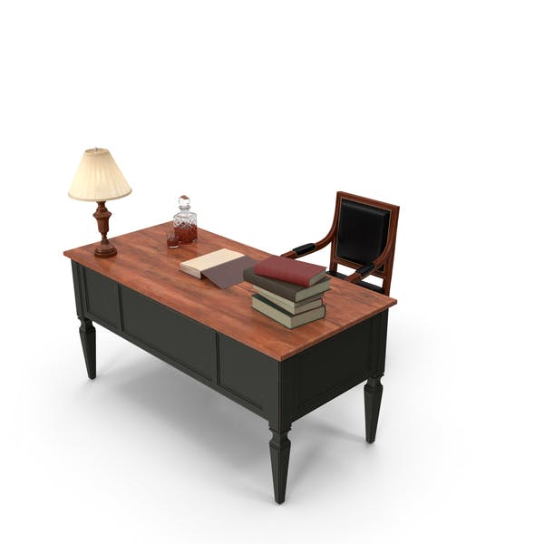 Classical Office Desk