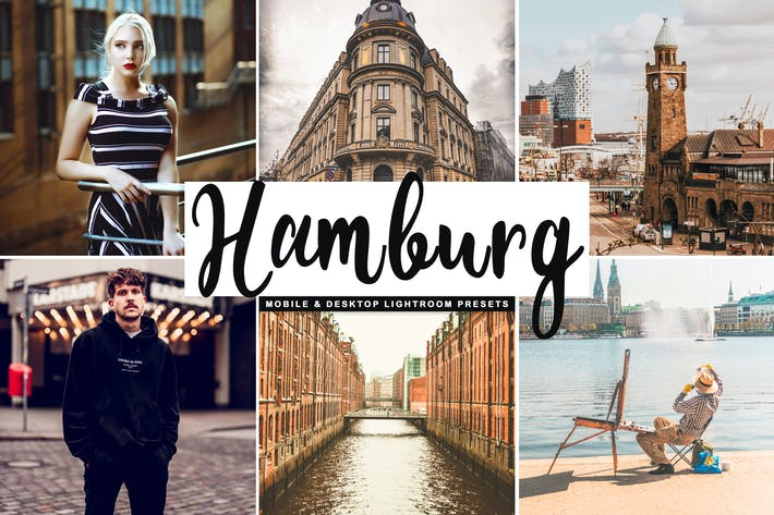 Thumbnail for Hamburg Mobile & Desktop Lightroom Presets