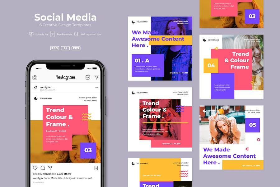 SRTP- Social Media Pack. v6
