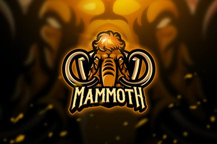 Mammoth - Mascot & Esport Logo