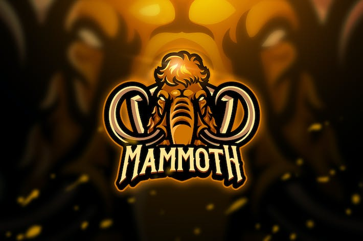 Thumbnail for Mammoth - Mascot & Esport Logo
