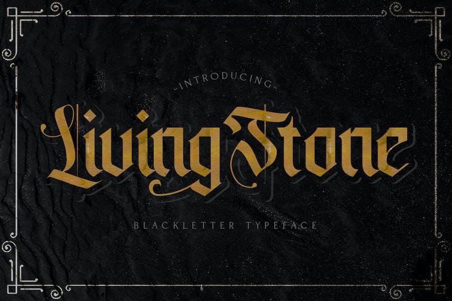 Livingstone - Blackletter Font