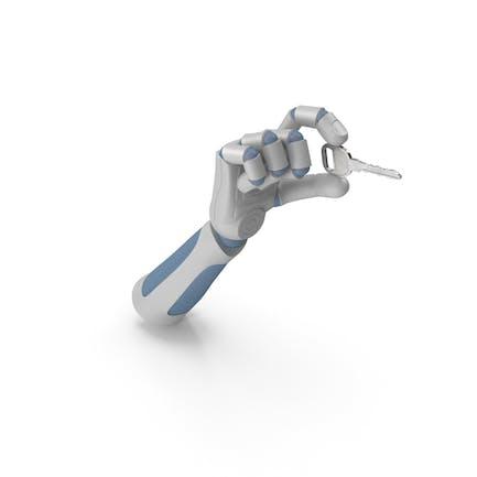 RoboHand Holding a Key