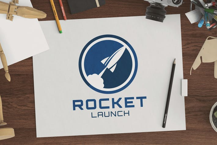 Thumbnail for Rocket Launch Logo