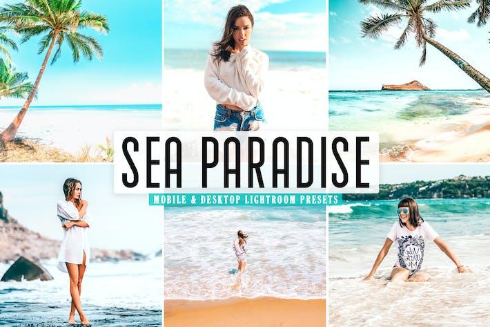 Thumbnail for Sea Paradise Mobile & Desktop Lightroom Presets
