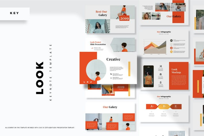 Thumbnail for Look - Keynote Template