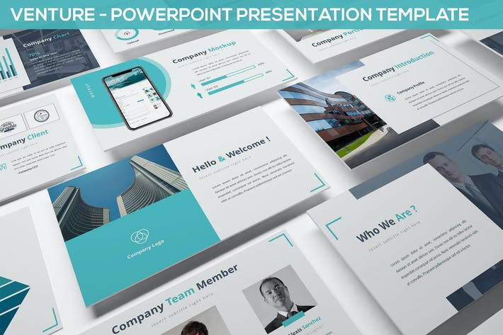 Thumbnail for Venture - Powerpoint Presentation Template