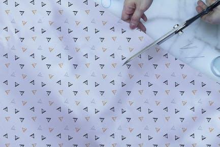 Fabric Closeup Mockup