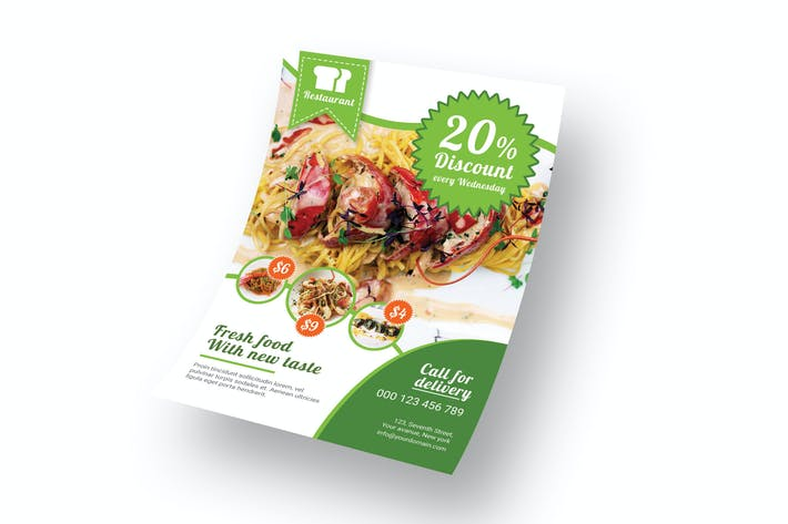 Thumbnail for Restaurant RH - Flyer