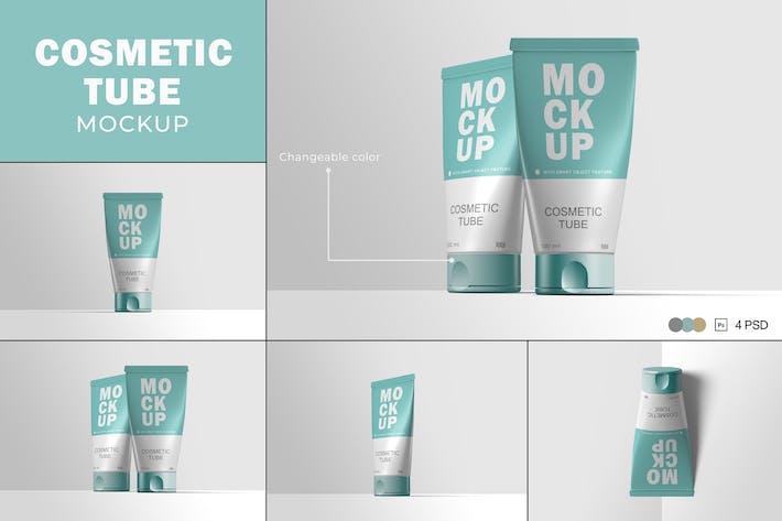 Thumbnail for Cosmetic Tube Mockups