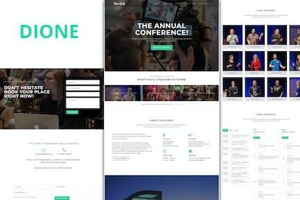 Dione — Conferencia & Evento WordPress Tema