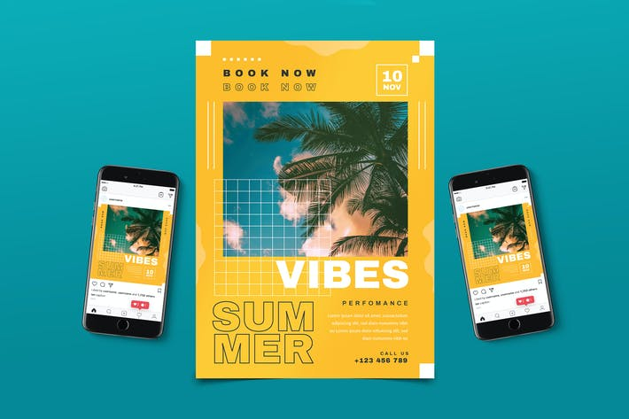 Thumbnail for Summer Party Flyer Pack
