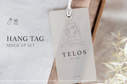 Hang Tag Mock-Up Set