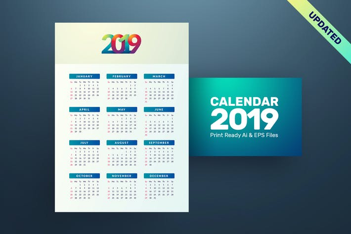 Thumbnail for Simple Calendar 2019