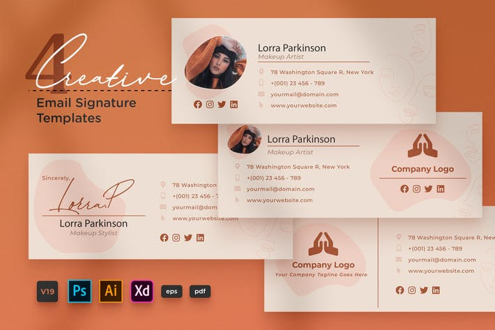 Thumbnail for Creative Email Signature V19 Multipurpose