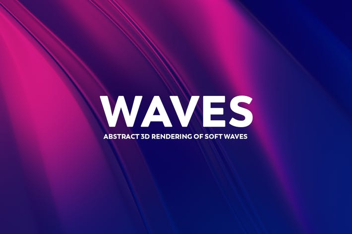 Thumbnail for Abstract 3D Rendering of Soft Waves