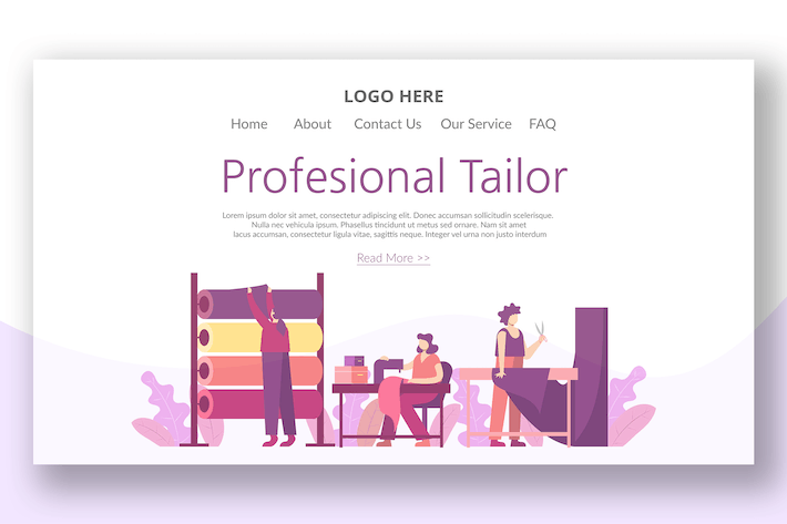 Thumbnail for Personal Boutique - Landing Page