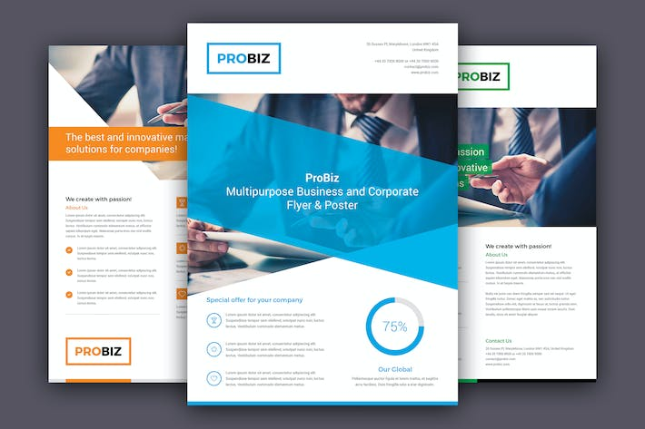 Thumbnail for ProBiz – Business and Corporate Flyer