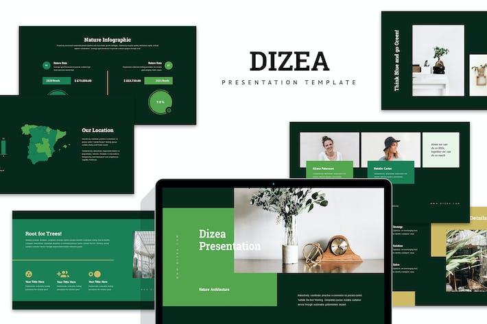 Thumbnail for Dizea : Green Lifestyle Google Slides