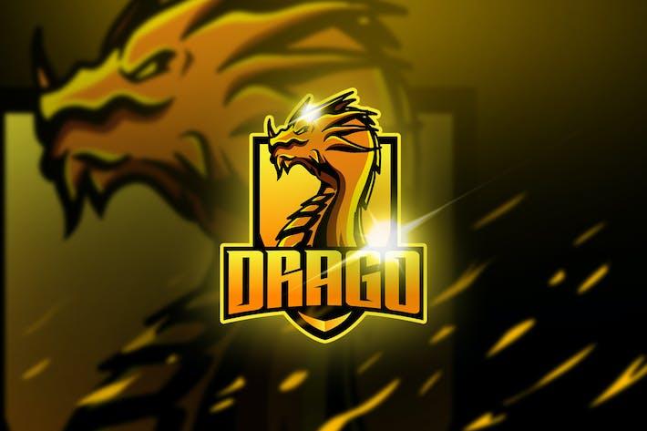 Thumbnail for Drago - Mascot & Esport Logo