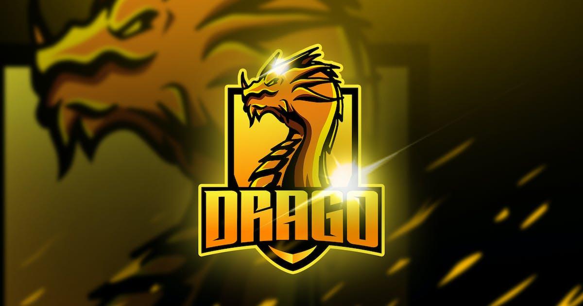 Download Drago - Mascot & Esport Logo by aqrstudio