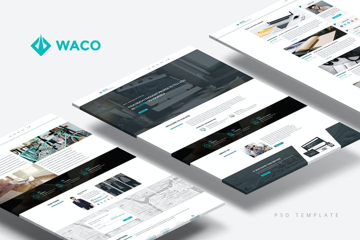 Thumbnail for Waco — Multipurpose Portfolio & Blog