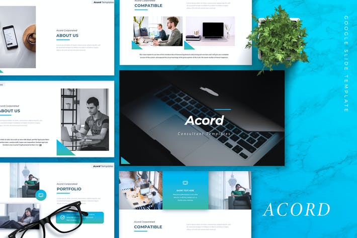 Thumbnail for ACORD - Consultant Google Slides Template
