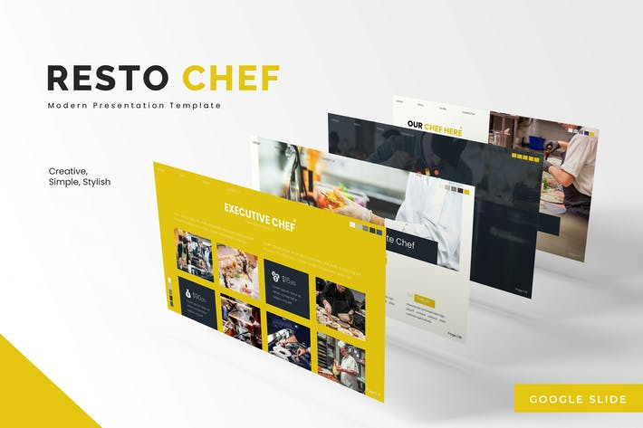 Thumbnail for Resto Chef -  Google Slides Template