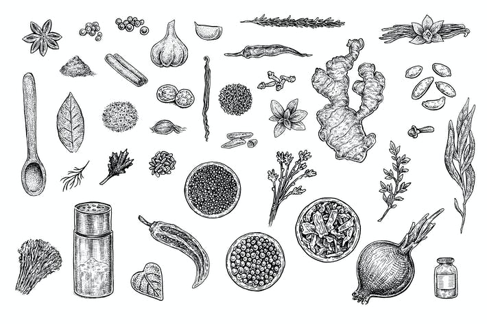 Thumbnail for Herbs And Spices Set