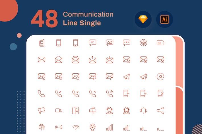 Line Senja - Communication