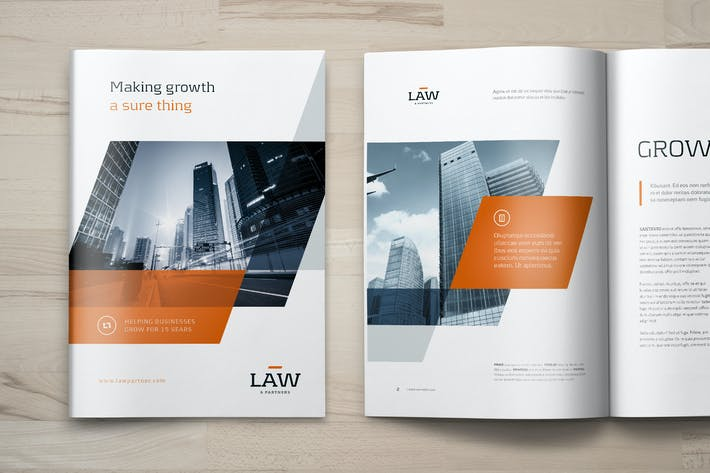 Thumbnail for Law - Business Brochure