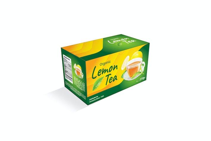 Lemon Tea Pacakging