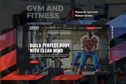Maco | Gym and Fitness WordPress Theme
