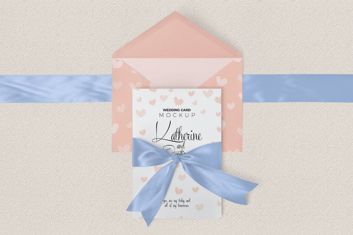 Cover Image For Wedding Invitation Mockups
