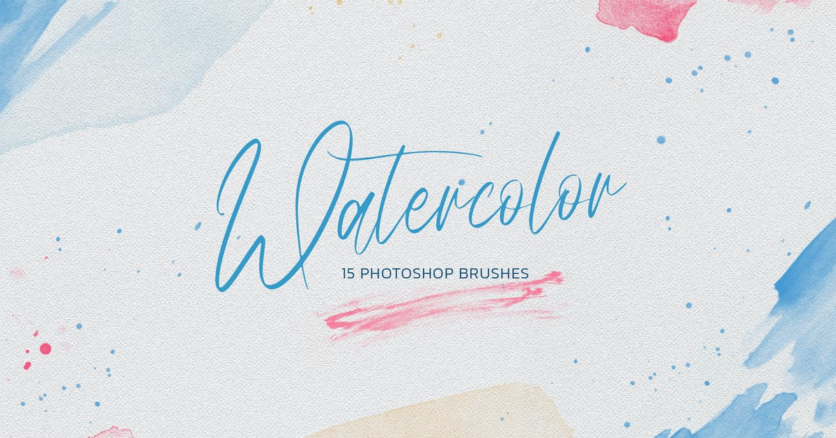Download Watercolor Photoshop Brushes by Sko4