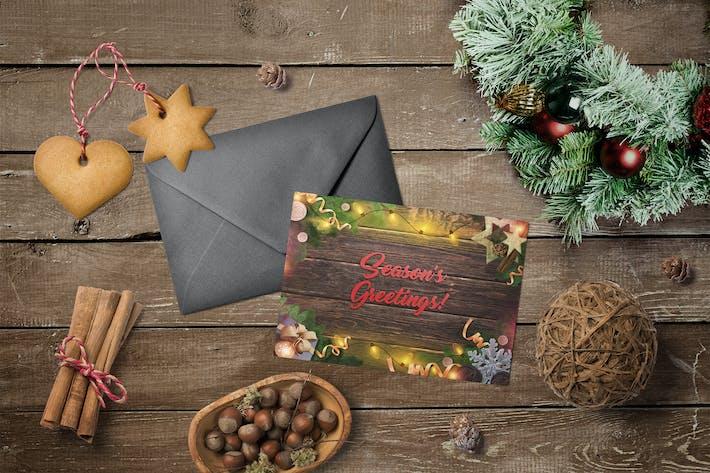 Thumbnail for Carte de vœux de la saison